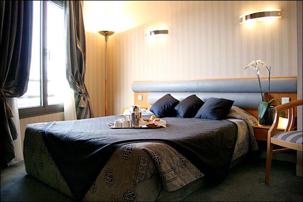 Villa Luxembourg Chambre en journée