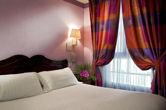 Hotel Alexandrie - chambre en journée Gare de Lyon