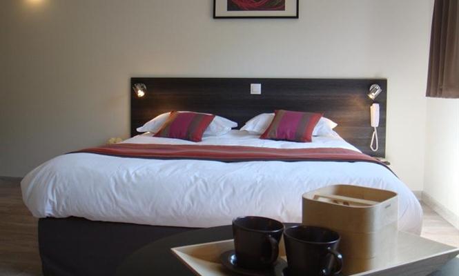 Chambre d'hôtel en journée Lyon