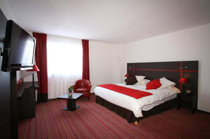 Chambre d'hôtel en journée cambrai Nord Pas de Calais