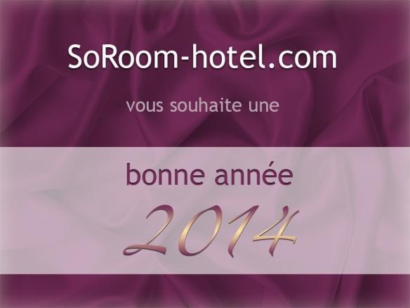 SoRoom vous souhaite une bonne année 2014