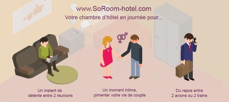 Pourquoi une chambre d'hôtel en journée ?