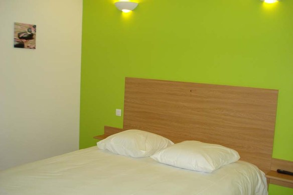 chambre d'hôtel en journée près de l'aéroport de Toulouse