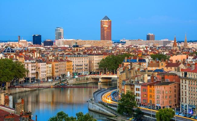 Chambre d'hôtel en journée à Lyon